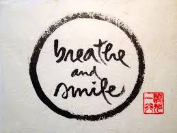respira e sorridi